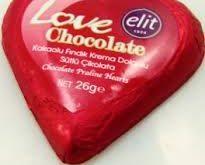 فروش کاکائو قلبی قرمز ولنتاین